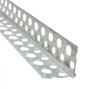 Уголок перфорированный алюминиевый ( 3 м)