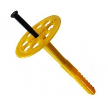Крепление для утеплителя с пл. гвоздем 10*90 мм (2 сорт)