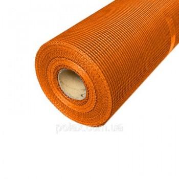 "Сетка штукатурная Fiberglass 6*5 мм (1*50 м) 145"" оранжевая (м2)"