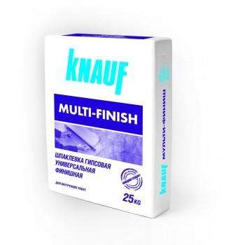 Шпаклевка гипсовая KNAUF (Кнауф) Мульти-финиш (25 кг)