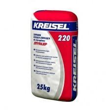Клей для пенопласта Kreisel 220 (Крейзель) (армирование) (25 кг)